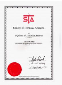 Diplômé MSTA en 1999 sta 0011