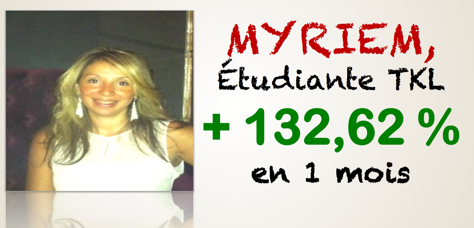 Myriem, TOP TKL Woman pour la seconde fois !