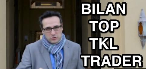 Une compétition Top TKL Trader qui démarre fort