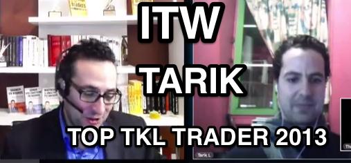 ITW de Tarik vainqueur de TOP TKL TRADER avec + 3000 %