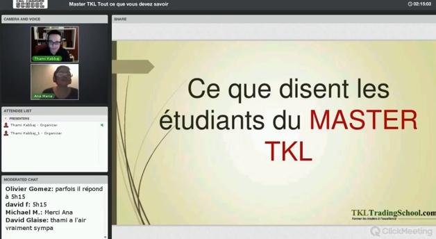 Vidéo ITW d'Ana Maria : je vis une incroyable aventure humaine avec la TKL