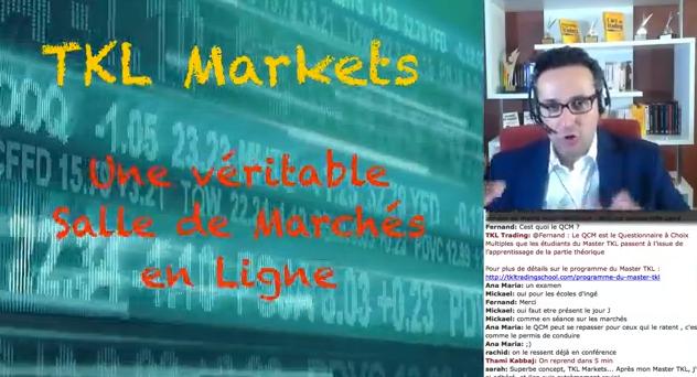 Vidéo : TKL Markets, véritable Salle de Marchés en ligne