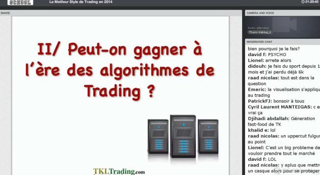 Comment battre les algorithmes de Trading ?