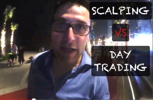 Day trading scalping strategie