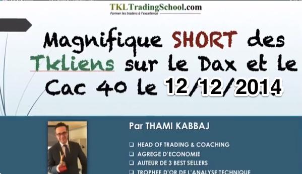 COACHING LIVE TKL du 12/12/2014