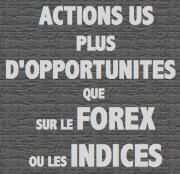 Actions US : Volatilité supérieure aux indices et Forex