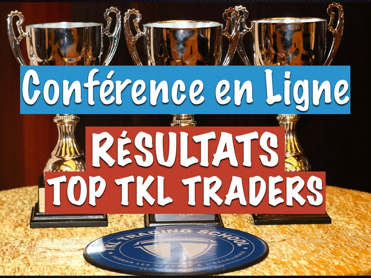 Resultats de la derniere competition de Trading : TOP TKL TRADER