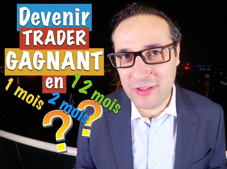 Combien de temps est nécessaire pour devenir un Trader gagnant ?