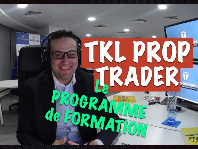 Les 8 points forts du programme de formation trading TKL PROP TRADER