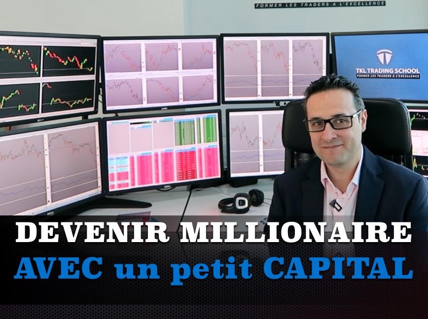 Peut-on devenir trader millionnaire avec un petit compte de trading ?
