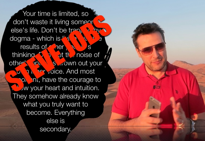 Optimisez votre temps, il est précieux ! (Steve Jobs)