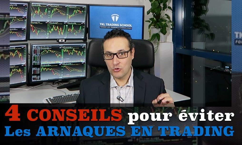 4 conseils pour éviter les arnaques en Trading