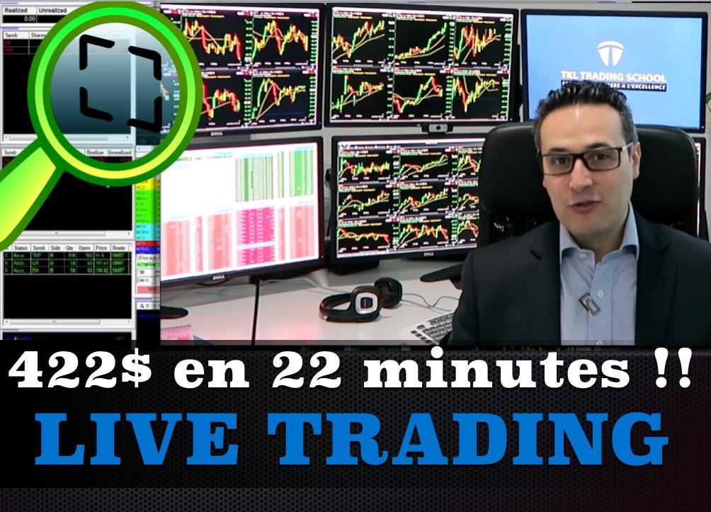 Pourquoi j'ai réalisé cette vidéo de live trading ?