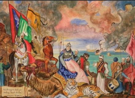 tariq_ibn_zyad_bruler_ses_navires réussite Le secret de la réussite c'est le passage à l'action ! tariq ibn zyad bruler ses navires