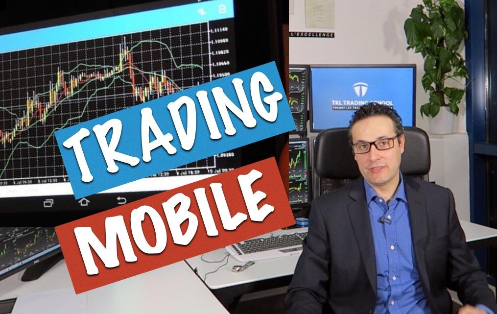 Trading mobile, 50% de traders sur téléphone en 2016 ?