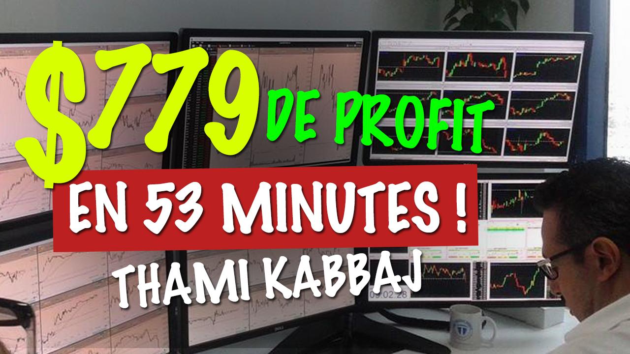 TKL LIVE TRADING : +779$ en 53 minutes