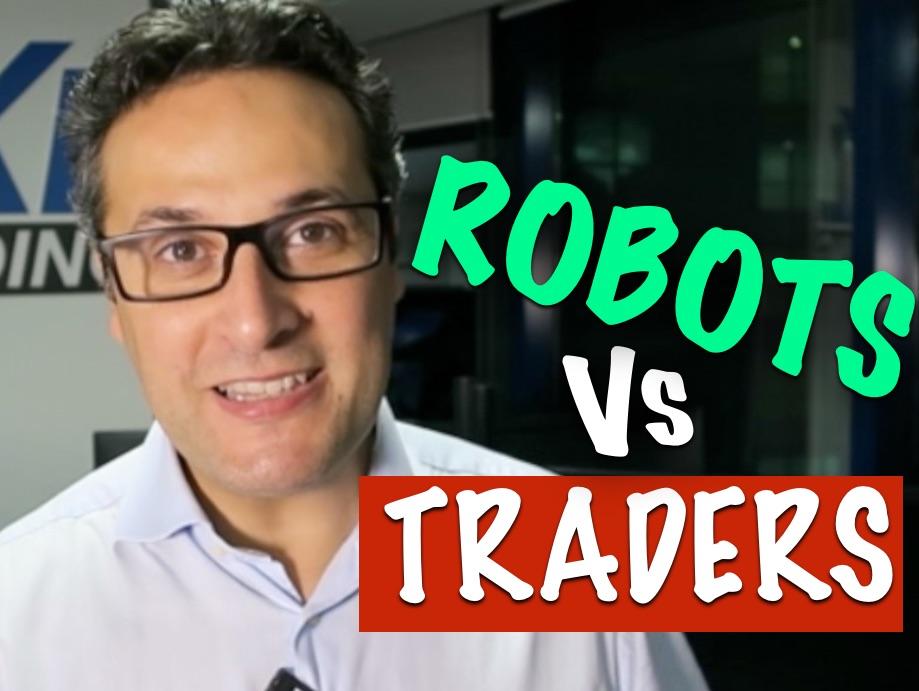 Comment les traders parviennent à battre les robots de trading ?
