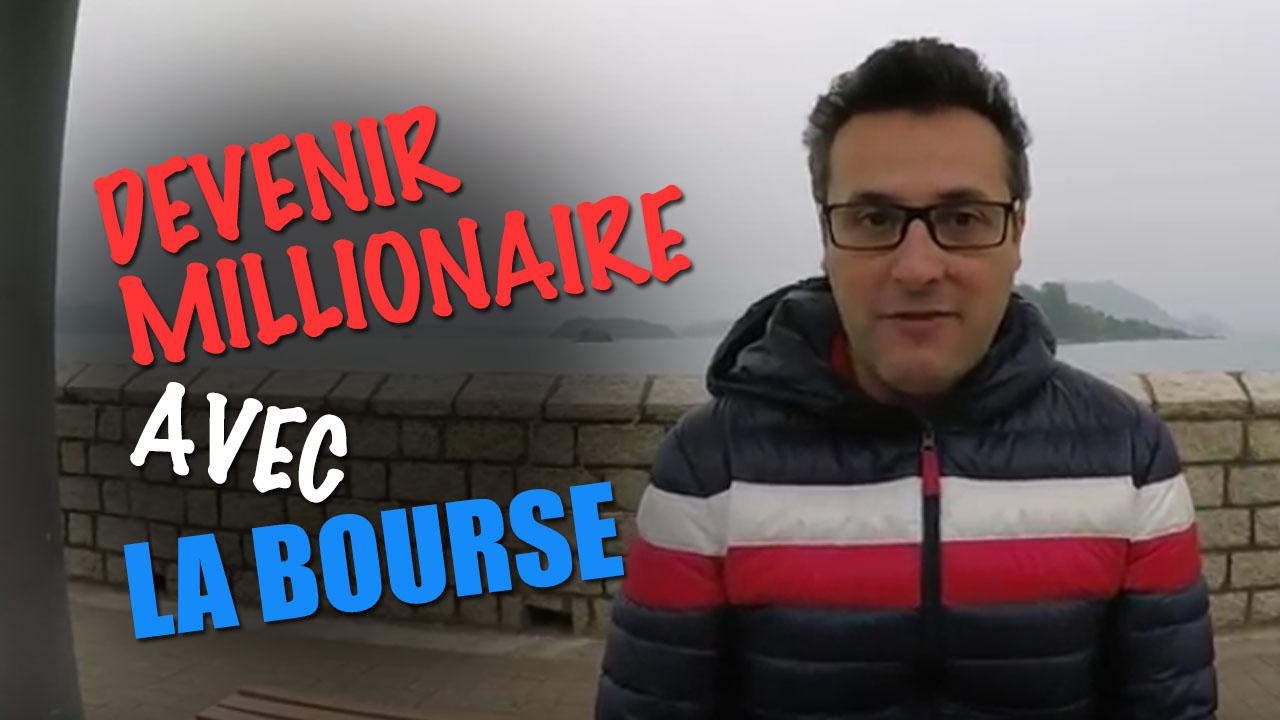 Peut-on devenir millionaire grâce a la bourse ?