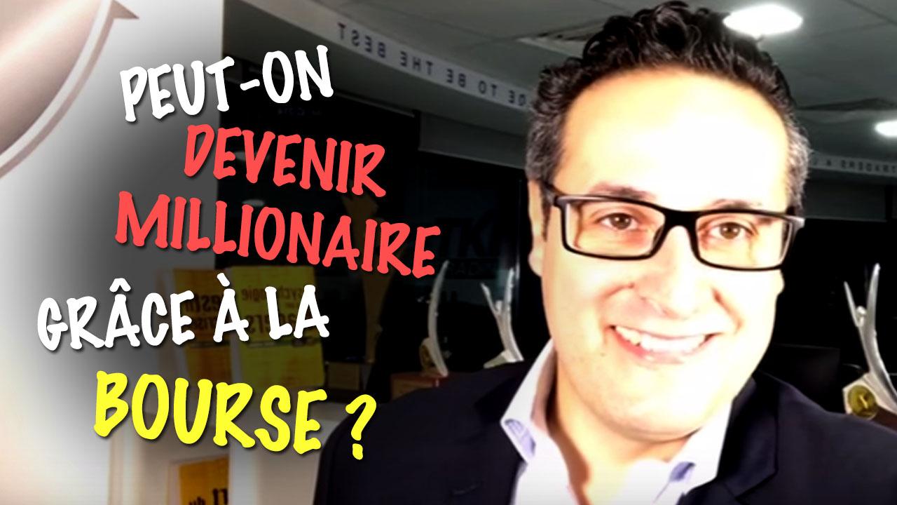 Peut-on devenir millionaire grâce à la #Bourse ?