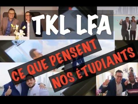 TKL LFA une formation exceptionnelle ? L'avis de nos étudiants !