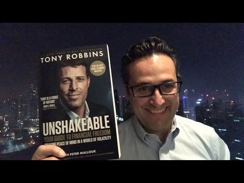 Mon avis sur #unshakeable de Tony Robbins