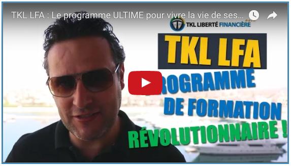 financière financière TKL LFA : Le programme ULTIME pour devenir libre financièrement Capture d   e  cran 2017 05 26 a   08