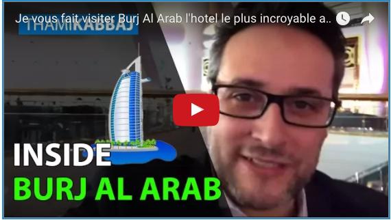 Burj Al Arab burj al arab Je vous fait visiter Burj Al Arab l'hôtel le plus incroyable au monde Capture d   e  cran 2017 05 30 a   08