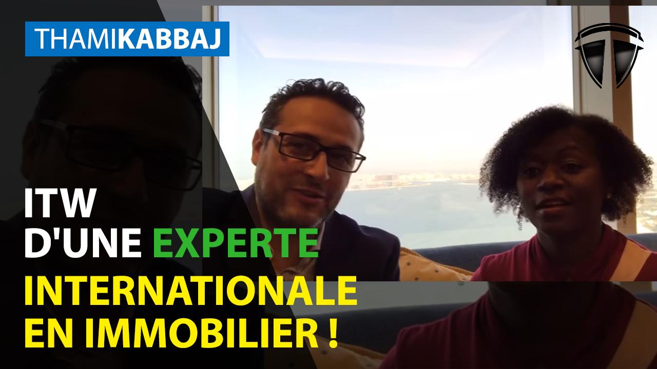 ITW à Dubaï d'une experte internationale en immobilier !