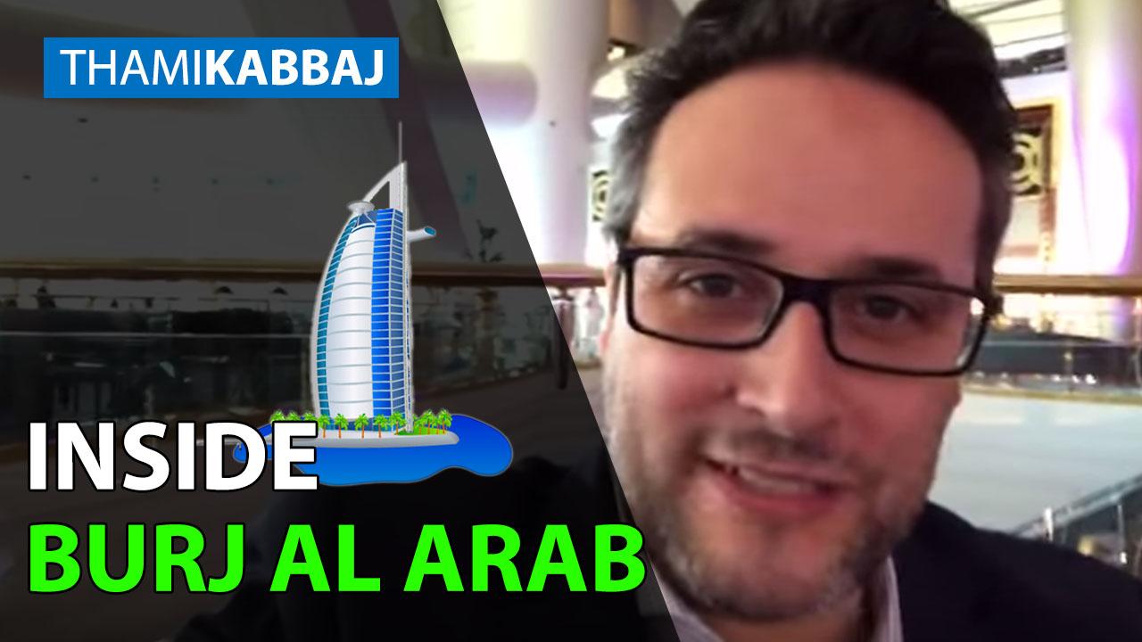 Je vous fait visiter Burj Al Arab l'hôtel le plus incroyable au monde