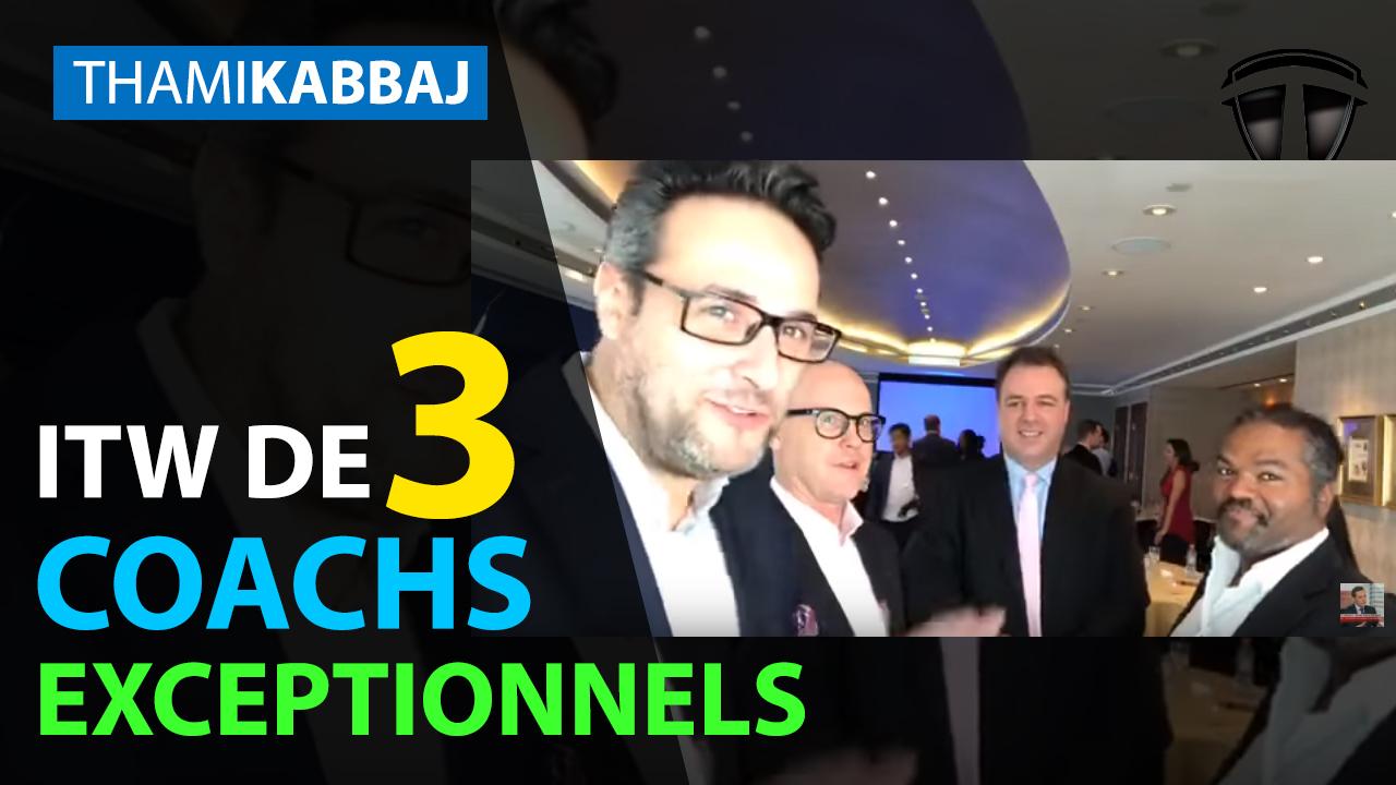 ITW de 3 coachs exceptionnels : simplifier son business !