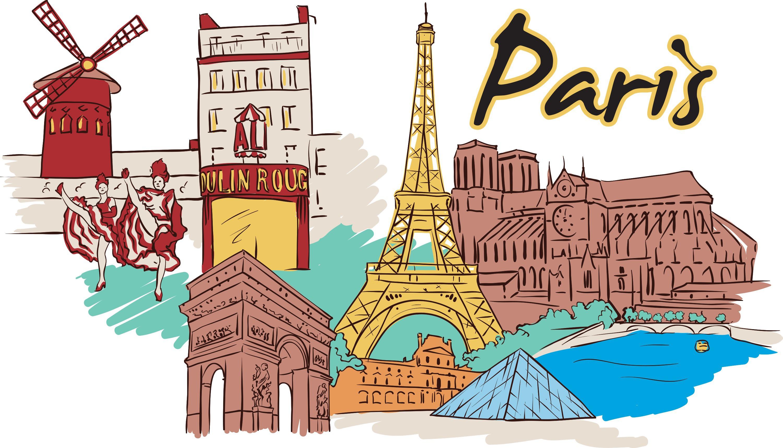 paris paris Pourquoi 60% des cadres veulent FUIR Paris  ? paris vector doodle MJFjWYLd L