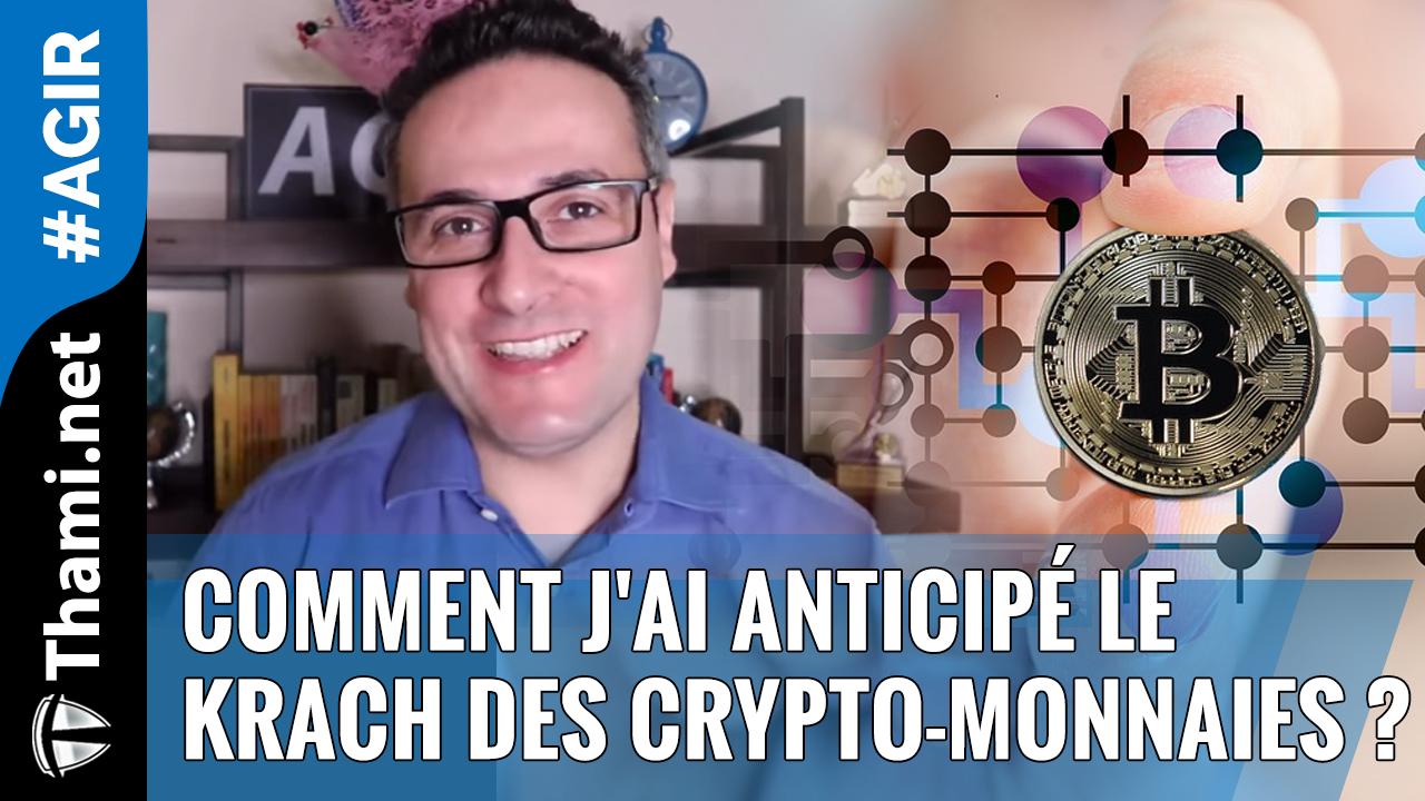 Comment j'ai anticipé le Krach des Cryptomonnaies ?