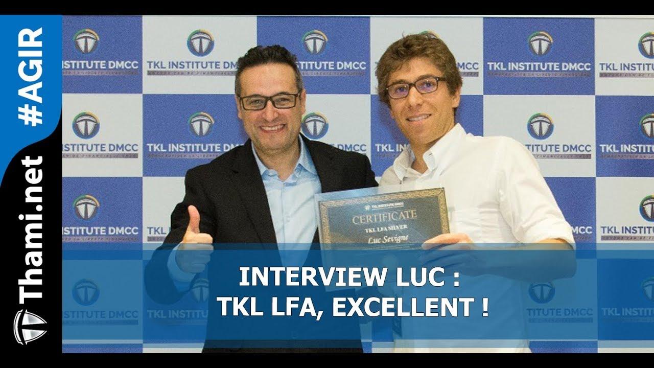 ITW Luc : TKL LFA, Excellent, c'est la 4ème dimension :)
