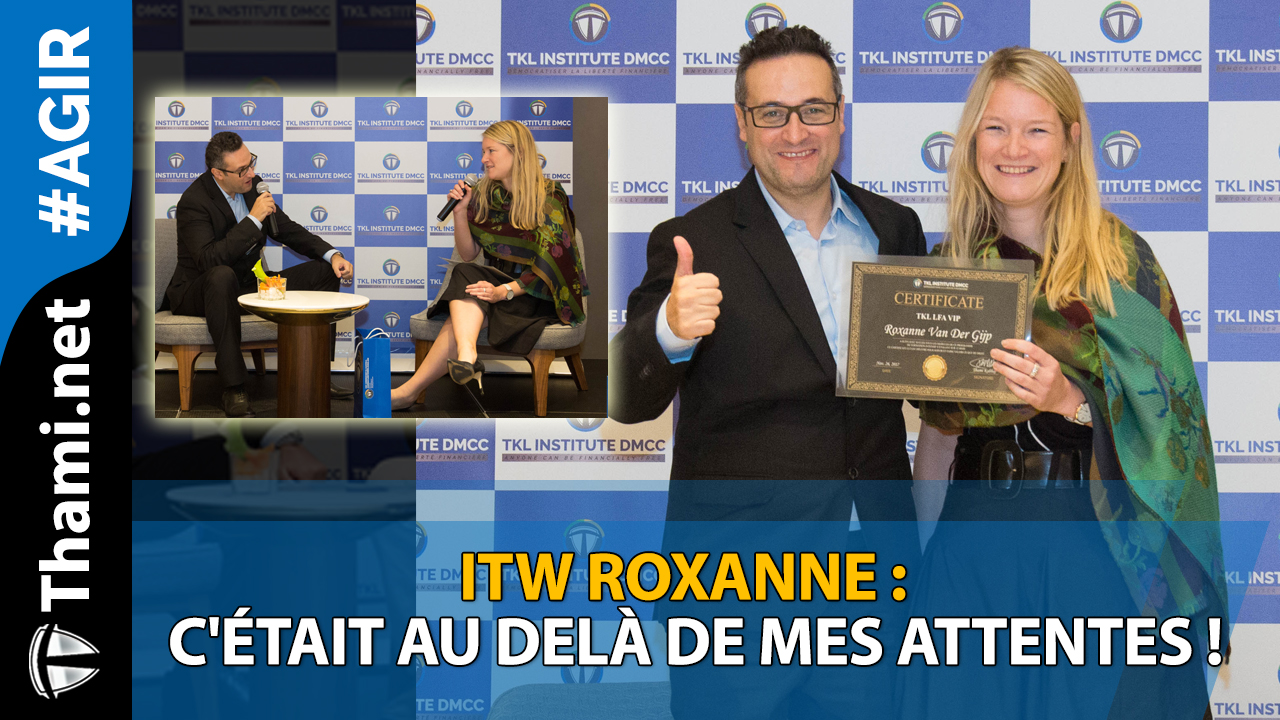 ITW Roxanne : c'était au delà de mes attentes !