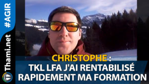 christophe christophe Christophe,TKL LFA j'ai rentabilisé rapidement ma formation 01152018 ChristopheTKL LFA jai rentabilis   rapidement ma formation