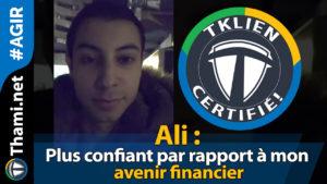 ali Ali Ali : plus confiant par rapport à mon avenir financier 01232018 Ali plus confiant par rapport    mon avenir financier