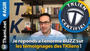 buzz buzz Je réponds à l'énorme BUZZ sur les témoignages des TKliens ! 01232018 Je r  ponds    l  norme BUZZ sur les t  moignages des TKliens