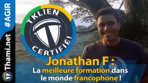 jonathan jonathan Jonathan F : la meilleure formation dans le monde francophone ! 01232018 Jonathan F la meilleure formation dans le monde francophone