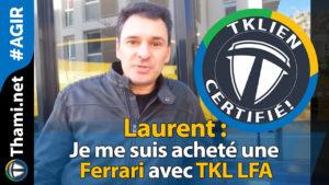laurent Laurent Laurent : je me suis acheté une Ferrari avec TKL LFA :))))) 01232018 Laurent je me suis achet   une Ferrari avec TKL LFA