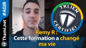 remy Remy Remy R : Cette formation a changé ma vie 01232018 Remy R Cette formation a chang   ma vie