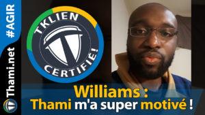 williams Williams Williams : Thami m'a super motivé ! 01232018 Williams Thami ma super motiv