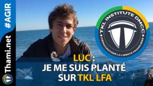 luc luc Luc : Je me suis planté sur TKL LFA 01312018 Je me suis plant   sur TKL LFA