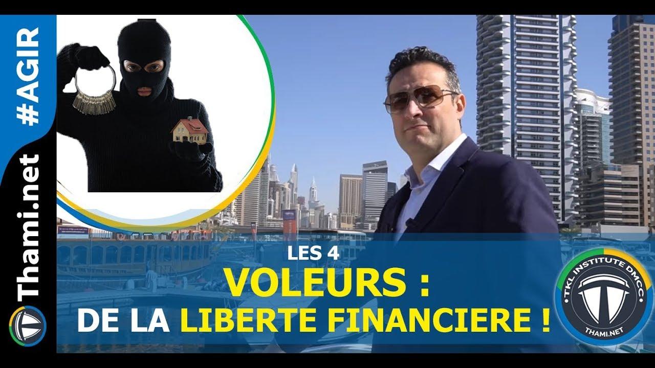 4 Eléments qui vous privent de votre liberté financière!!