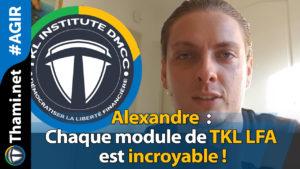 alexandre alexandre Alexandre : chaque module de TKL LFA est incroyable ! 02042018 Alexandre chaque module de TKL LFA est incroyable
