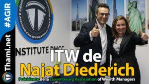 najat Najat ITW de Najat Diederich Présidente de la LAWM 02112018 ITW de Najat Diederich