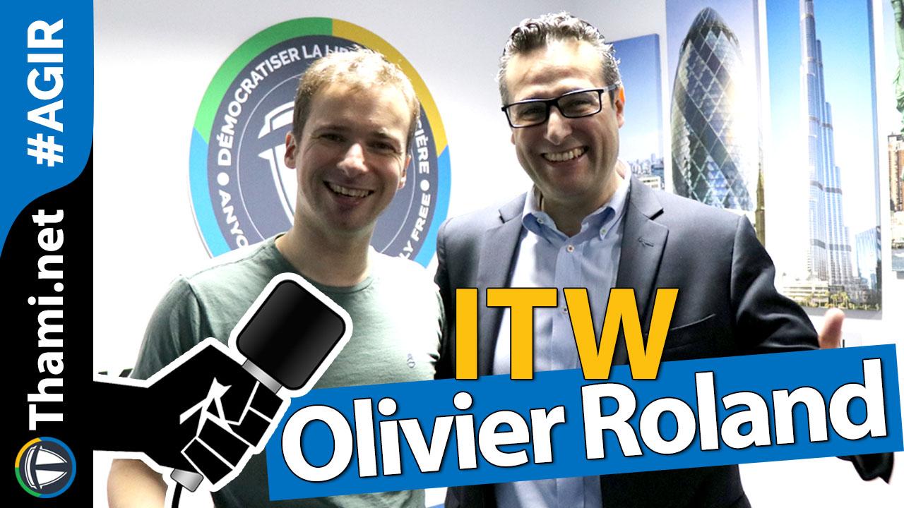 Olivier Roland, auteur de Best Seller ? et entrepreneur à succès