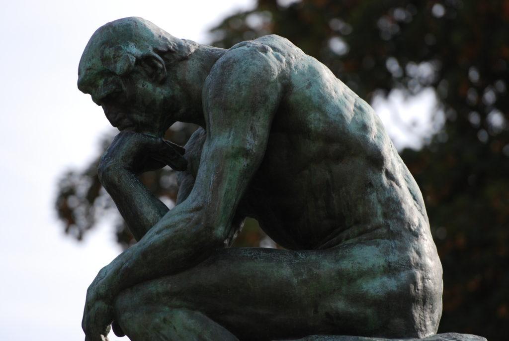 j'ai tout raté j'ai tout raté J'ai tout raté à 50 ans et je pense au suicide ! The Thinker Mus  e Rodin Paris September 2013 003