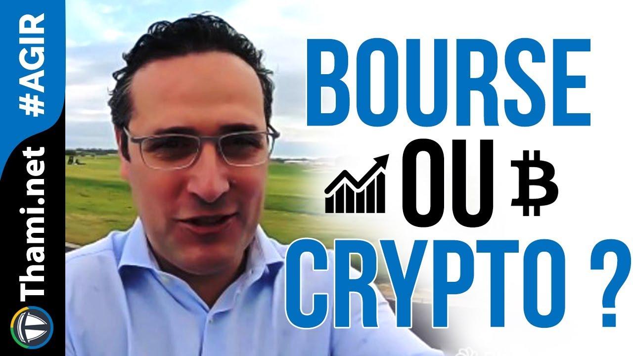 Faut-il investir en Bourse ou sur les Cryptos quand on a 20 ans ?