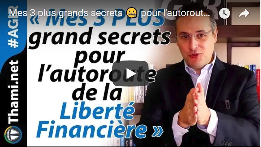 liberté financière liberté financière Mes 3 plus grands secrets pour l'autoroute de la Liberté Financière 💸 Capture 3