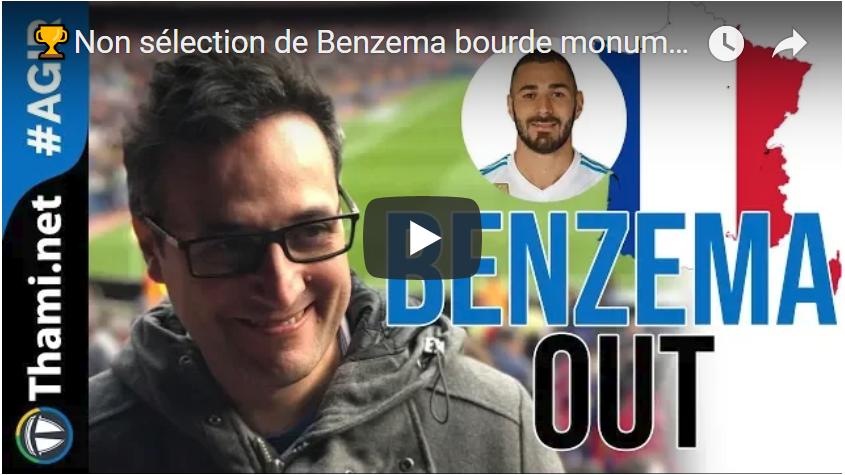 benzema benzema Non sélection de Benzema : bourde monumentale, bon choix stratégique? benzema